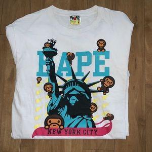 Bape shirt size M